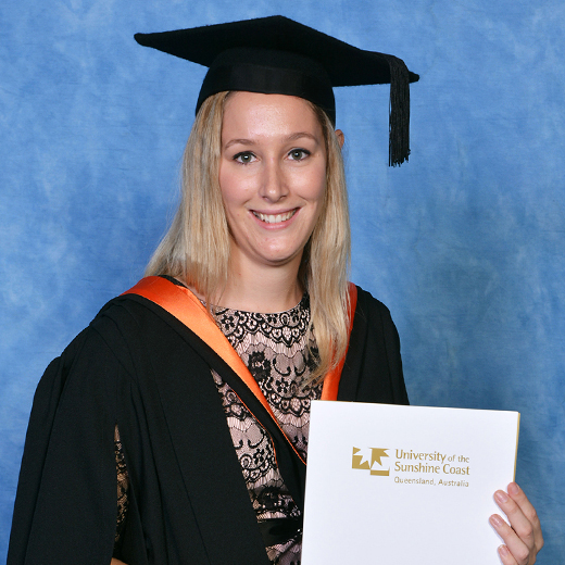 Bachelor of Civil Engineering graduate Clarissa Campbell