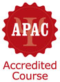 APAC accredited courses logo