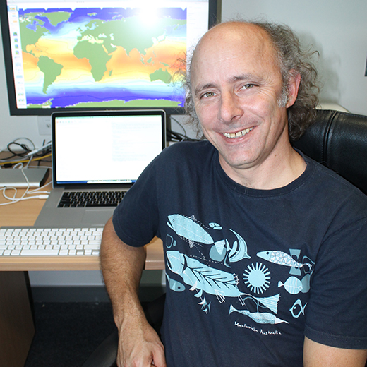 USC researcher Dave Schoeman was part of a global climate change research project.