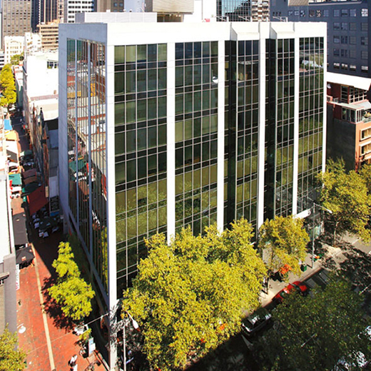 The new USC building at 399 Lonsdale Street, Melbourne.