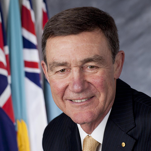 Air Chief Marshal Sir Angus Houston AK, AFC (Ret'd) is USC's new Chancellor.