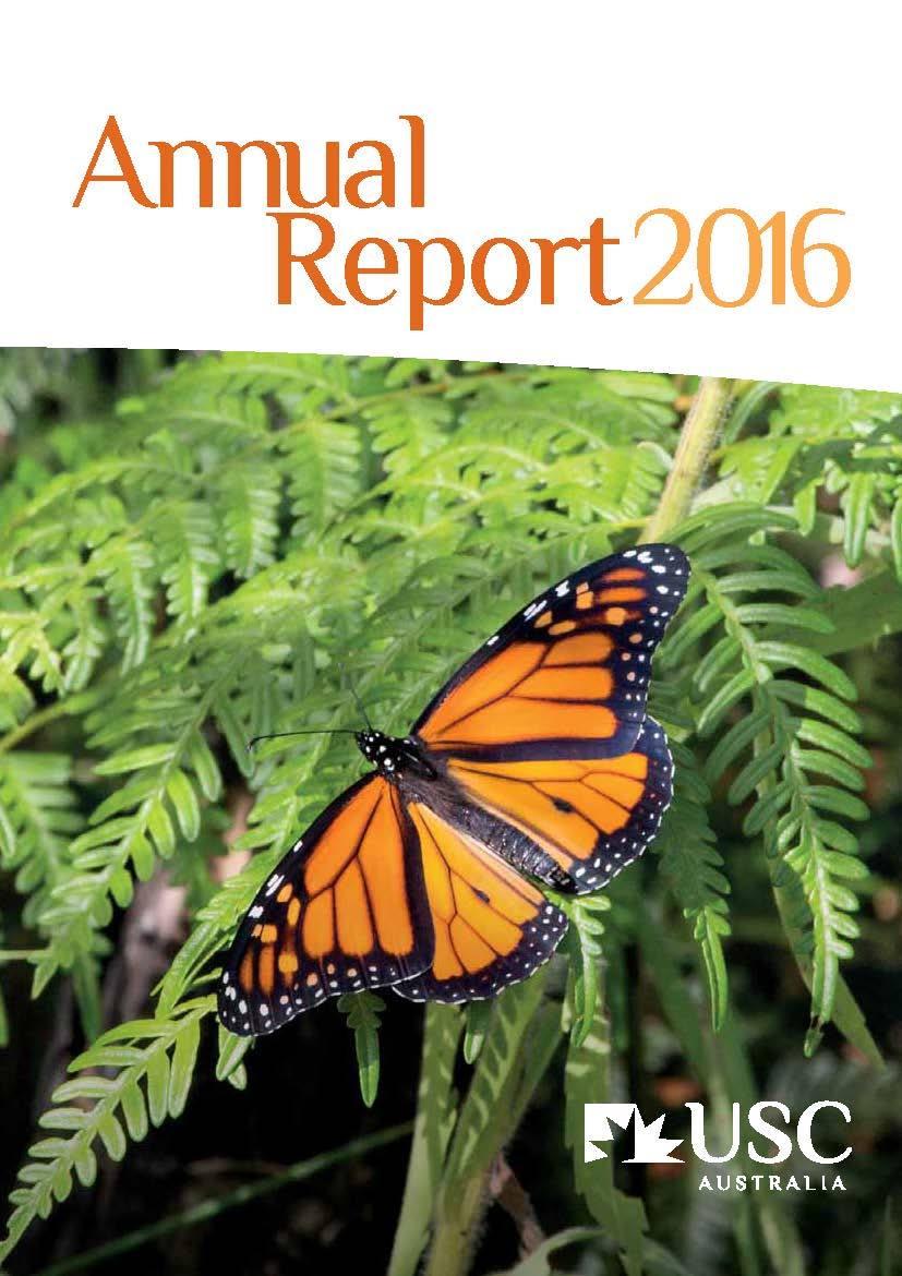 2016 USC Annual Report cover image