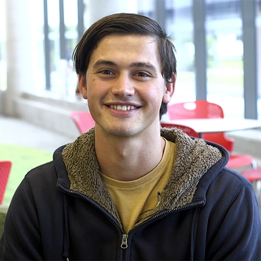 Duncan Strauss, 21, of Yandina, was one of more than a thousand USC students who applied for financial assistance in 2016.