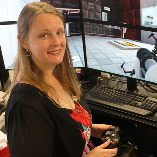 USC Associate Lecturer in Serious Games Dr Colleen Stieler-Hunt