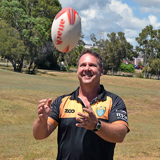 Lecturer in Sports Studies at USC Fraser Coast Dave Robinson