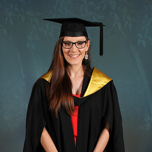 USC Primary Education graduate Kirsty Wright