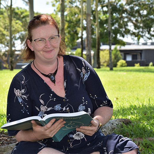 Hervey Bay's Kristy Benson is studying Midwifery at USC's Sunshine Coast campus.