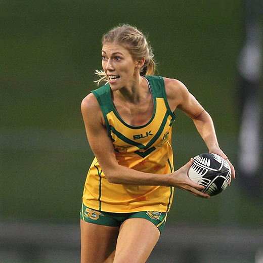 Australian touch player Hayley Maddick is USC's 2019 Sportsperson of the Year