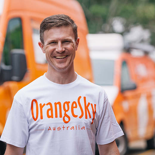 USC graduate Michael Duggan  has been appointed Chief Operating Officer of Orange Sky operations around Australia and New Zealand.